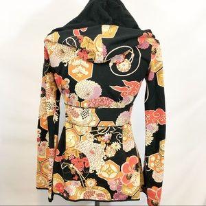 Lucky Brand Tops - Lucky brand hooded wrap jacket. Sz xS